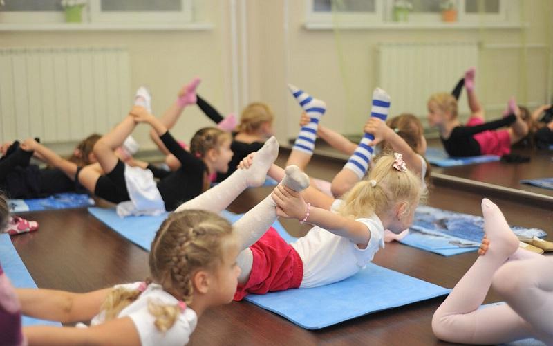 детские занятия гимнастикой