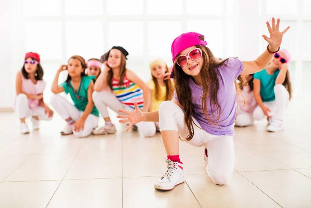 современный танец дети