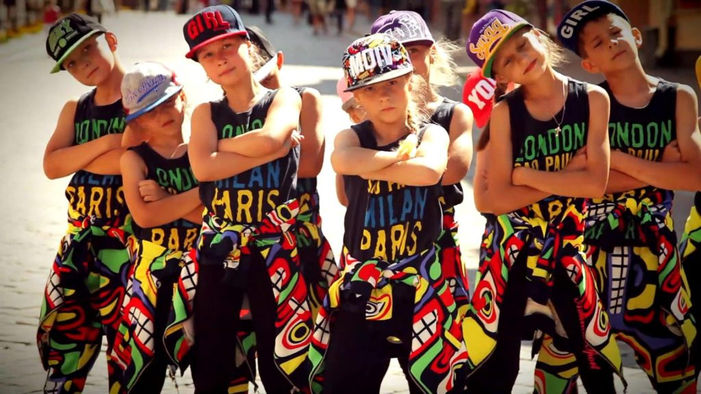 хип хоп занятия для детей